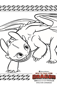 Download and print these how to train your dragon coloring pages for free. Toothless Dragon Coloring Page From How To Train Your Dragon 3 Dragon Coloring Page How Train Your Dragon How To Train Your Dragon