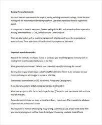Personal statement format header Resume Genius