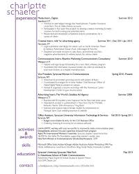 Sample Marketing Intern Resume Templates Training Lay Out Attorney