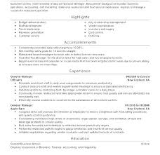 Resume For Servers Free Restaurant Resume Templates Thrifdecorblog Com