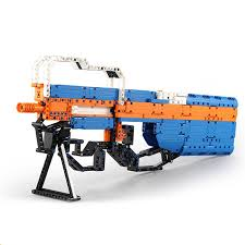 <b>Конструктор Double E Cada</b> Technics, пистолет-пулемет P90, 581 ...
