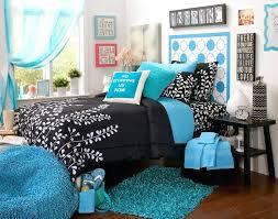 black and blue bedding aqua designs walls white