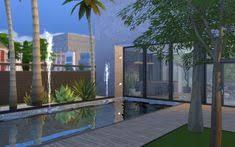 maison sims 4 jardin de luxe