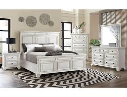 Calloway White 3 Piece Bedroom Set | Outlet at Art Van