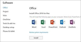 Office Dowload Download And Install Office 2016 For Mac Realconnections