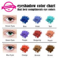 Brown Color Chart Wheel How To Pick The Right Eye Shadow Shades For Your Eye Color