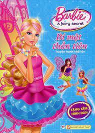 Barbie - Bí Mật Thần Tiên (Truyện Tranh Khổ Lớn)   Tân Việt