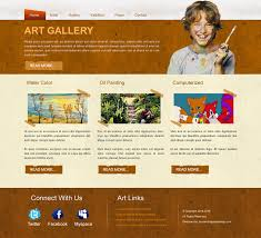 Artist Website Templates Adorable 28 Images Of Art Gallery Website Template Leseriail