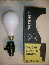philips 3 light adaptor kit for table floor lamps consisting of a bc to e26s lamp adaptor with 3 way switch and 240 250v 60 100 160 watt 3 way