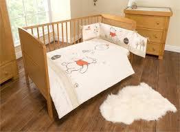 winnie the pooh neutral spot bedding set