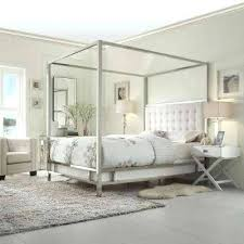 White Canopy Full Bed White Canopy Bed White Full Canopy Bedroom Set ...