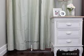 Short Length Bedroom Curtains 4 Curtain Mistakes To Avoid Diy Decorator