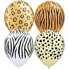 <b>Jungle Party</b> Decorations - <b>Jungle Animal</b> Print <b>Balloons</b> | <b>Jungle</b> ...