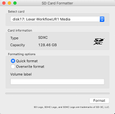 It is a 100% clean program. Sd Card Formatter For Formatting Wiping Repairing Sd Microsd Cards