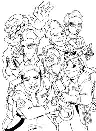 Small Picture Ghostbusters Coloring Pages Ghostbusters 3 Coloring Pages Kids