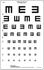 53 Expository Standard Eye Chart Test