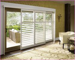 best window treatment for sliding patio doors glass door small home regarding covering idea 4