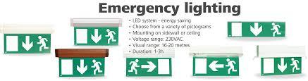 Emergency Lighting System Addressable Emergency Exit And Lighting System Jk Fire