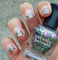 31DC2015 – Glitter Gradient Nail Art   the Rite of Aging...early