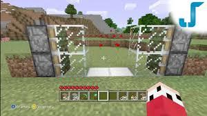 minecraft xbox lockable piston doors tutorial sliding glass doors you