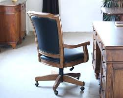 wood office chair wood frame black leather rolling office chair free wood desk chair plans
