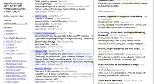 resume indeed only 1 for each job seeker contacted impressive