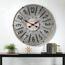 36 wall clock oaks oversized metal wall clock reviews oversized metal wall clock 36 inch wall