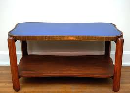 art deco coffee tables uk table with cobalt blue glass top