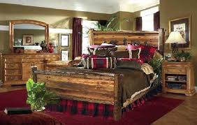 rustic king bedroom set. image of: large log bedroom sets rustic king set d