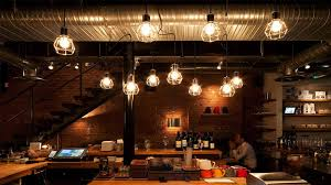 cafe lighting design. Lighting Detail Counter Industrial Raw Interior Restaurant Nulty Cafe Design I