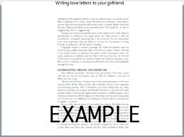 Writing Love Letters To Your Girlfriend Are Time Immemorial