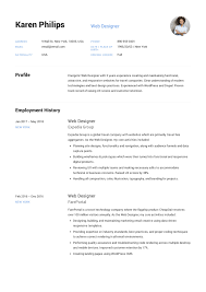 Is It Better To Have A Traditional Resume Or A Modern Resume For Noncreative Jobs Web Designer Resume Example Template Sample Cv Formal