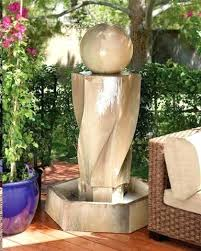 large outdoor water features vortex with ball outdoor water fountain outdoor art pros large outdoor water