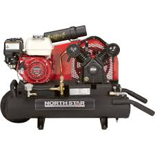 gas air compressor. image is loading northstar-gas-powered-air-compressor-8-gal-twin- gas air compressor g