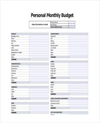 example of personal budget 14 personal budget examples samples examples