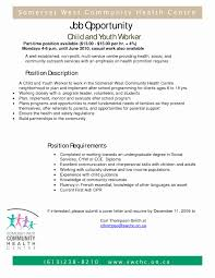 Sample Youth Counselor Resume Samples Of Contract Letters