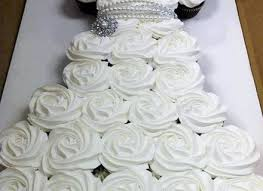 Cupcake Bridal Dress internationaldot