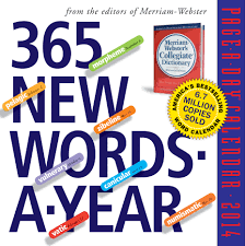 Word Year Calendar Amazon Com 365 New Words A Year 2014 Page A Day Calendar