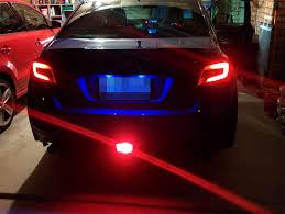 Wrx F1 Fog Light Ijdmtoy Usdm F1 Style Subaru Wrx Rear Fog Light With A