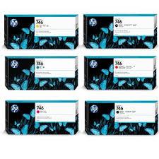 <b>HP 746</b> 300ml <b>DesignJet</b> Ink Cartridge Kit P2V78A KIT - Adorama
