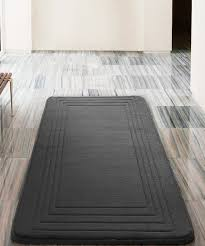 black hotel memory foam bath rug