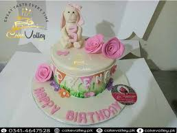 1st Birthday Baby Girls Rabbit Cake Online Cake Order And Delivery