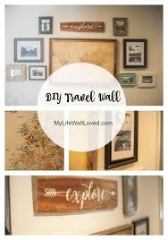 lovely travel wall art home gallery and room d i y my life well loved idea sticker