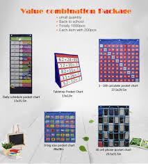 File Holder Pocket Chart 30 Pockets For Home Organization