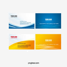 Free Name Cards Download Vector Business Card Templates Free Download