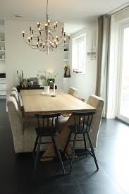 modern chandeliers dining room contemporary with window treatments mixed dining fu