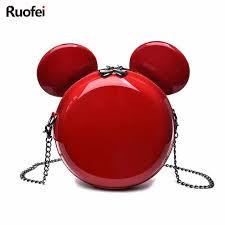 Hot <b>Fashion Brand Design</b> Women Mickey Shaped Bag Cute Funny ...