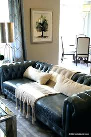 Black Furniture Living Room Ideas Simple Pillows For Leather Couches Throw Black Couch Living Room Color