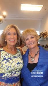 Gail Johnson and Sue Ellen Goss, co-chairs of the Save the Males for  Prostrate Cancer party