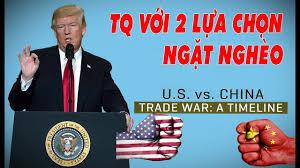 Kết quả hình ảnh cho Chiến tranh Trump-Tập